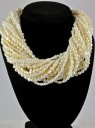 20-Strand Fresh Water Pearl Necklace